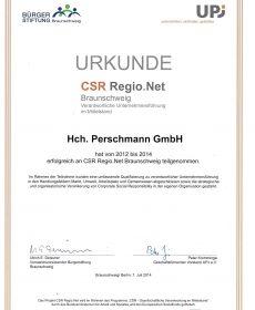 Pe_CSR_Regio_Urkunde