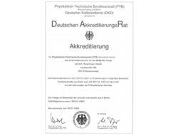 Akkreditierung 1993 Hch. Perschmann GmbH
