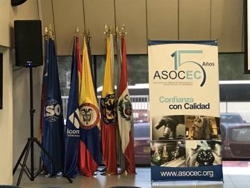 Perschmann Calibration zu Besuch der ASOCEC in Bogota