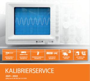 Perschmann Calibration Kalibrierkatalog 2021-2022 Kalibrierservice