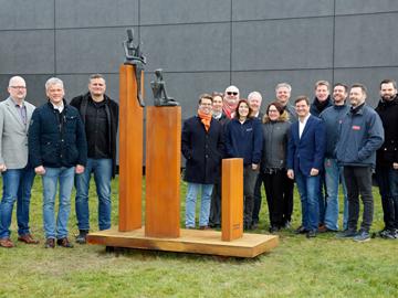 Skulptur 25 Jahre Kalibrieren