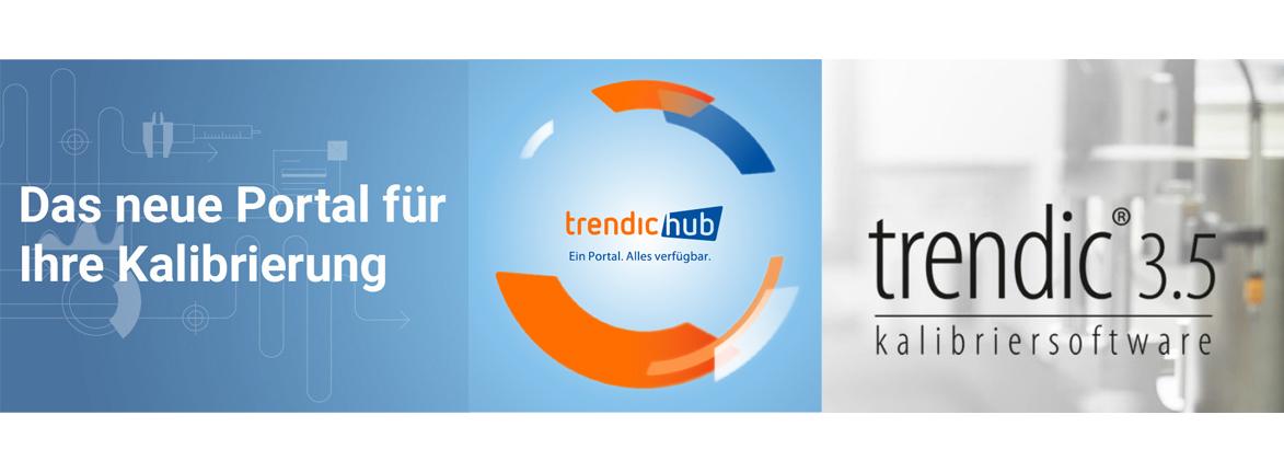 trendic hub und trendic® 3.5 Kalibrier- und Messmittelverwaltungssoftware von Perschmann Calibration