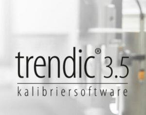 trendic 3.5 Software Perschmann Calibration