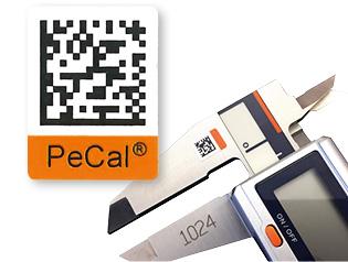 Unique-ID elektronisch lesbare eindeutige ID-Nummer von Perschmann Calibration