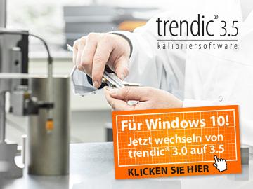 Wechsel zur trendic® 3.5 Kalibrier- und Messmittelverwaltungssoftware