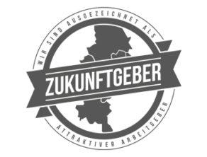 Zukunftgeber Logo Perschmann als attraktiver Arbeitgeber ausgezeichnet